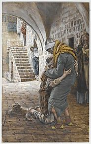 The Return of the Prodigal Son - James Tissot