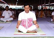 Here is How CM Sarbananda Sonowal Participated in International Yoga Day | Voice Of Greater Assam