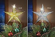 Unique Lighted Christmas Star Tree Toppers Ideas