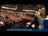 ABC News24 3rd Dec 2012 Australian Labor Party Conference re marriage equality