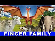 Finger Family Song - Dragon Fly, Ducks and Animals singing Songs for Children - Children Songs