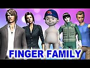 Finger Family Song - Funny Cartoon Animation Rhymes - Finger Family Rhymes for Children