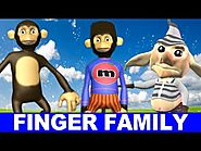 Finger Family - Funny Monkeys Singing Songs for kids - Finger Family Kids Songs