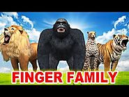 Finger Family Song - 3D Animation Rhymes for Children - Finger Family Children Rhymes