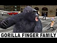 Finger Family Song - Gorilla (KingKong) Singing KIds Songs - Finger Family Kids Songs