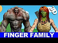Hulk - Finger Family Song - Hulk Family Singing Kids Songs - Finger Family Kids Songs