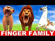 Finger Family Song - Lion King and Animals Singing Songs for Babies - Finger Family Baby Songs