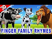 Finger Family Song - Animals singing Children Songs - Finger Family Children Songs