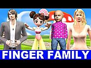 Finger Family Song - Cartoons for Children Singing Kids Songs - Songs for children