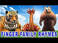 Finger Family Rhymes Collection - Animals Singing Finger Family Rhymes