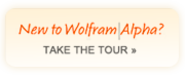 Wolfram|Alpha: Computational Knowledge Engine