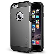 iPhone 6 Case, Spigen [HEAVY DUTY] Tough Armor Case for iPhone 6 (4.7-Inch) - Gunmetal (SGP11022)
