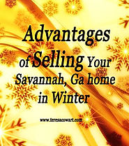 Advantages of Selling Your Savannah, Ga home in Winter