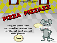 Addition Games - Pizza Pizzazz