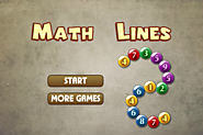 Math Lines Game - Online Math Lines Games