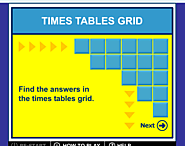 Times Tables Grid Game