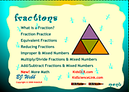 Kids, Fraction Tutorial, Learning Fractions - KidsOLR