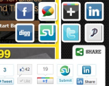 """Slick Social Share Buttons "" WordPress Plugin"