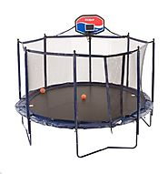 JumpSport Elite Basketball Trampoline Package, 14-Feet