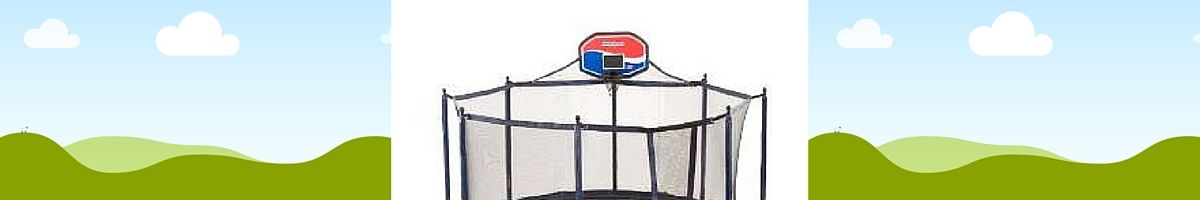 Headline for Cheap Trampoline With Basketball Hoop