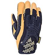 Mechanix Gloves: Leather Heavy Duty Work Gloves for Men XL XXL 3XL 4XL Sizes