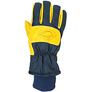 Caiman Insulated Pigskin Leather Work Gloves - Best Heavy Duty Stuff