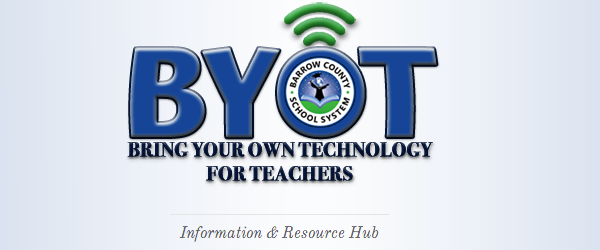 Headline for BYOT - Mobile Learning Resources