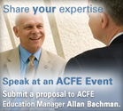 Association of Certified Fraud Examiners - Call for Speakers