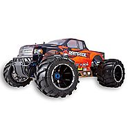 Redcat Racing Rampage MT V3 Gas Truck (1/5 Scale), Orange/Flame