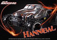 1/5th Giant Scale Exceed RC Hannibal 30cc Gas-Engine Remote Controlled Off-Road RC Monster Truck w/ 2.4Ghz TX 100% RT...