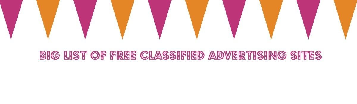 Headline for Big List Free Classified Ads Sites