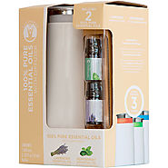 GuruNanda Essential Oil Diffuser Gift Set