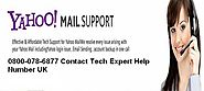 Bt yahoo problem support number uk