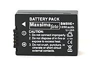 Maxsimafoto - DMW-BMB9 1250mAh BATTERY PACK for PANASONIC Lumix DMC FZ150, FZ100, FZ72, FZ70, FZ62, FZ60, FZ45, FZ40,...