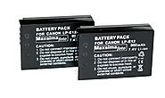 Maxsimafoto® - 2x Compatible LP-E12 Battery For Canon: Amazon.co.uk: Camera & Photo