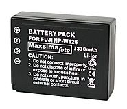 Maxsimafoto - NP-W126, Fully Compatible Battery, 1310mAh, for Fujifilm fits X-Pro1, X-E1, X-E2, X-M1, X-A1, X-T1, Fin...