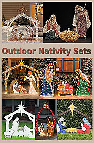 Outdoor Nativity Sets