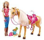 Barbie Feed & Cuddle Tawny Horse and Doll Playset Review
