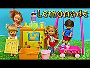 Barbie Kelly Lemonade Stand Playset Vintage Kid Barbie Dolls Toy Review & Frozen Kids DisneyCarToys
