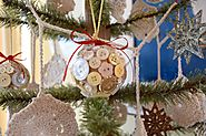 DIY Christmas Ornament Blog Hop - Karen's Up on The Hill