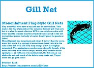 Gill Nets - Used For Fishing