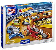 Mega Bloks Hot Wheels Super Race Set