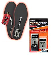 ThermaCELL Heated Insoles ProFLEX With Extra Battery Pack