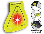 Amphipod Vizlet Wearable Triangle LED Reflector Clip On