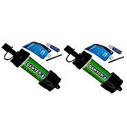 Sawyer Products SP101 Mini Water Filtration System 2-Pack (Green)