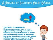 4 Phases of Learning Sight Words