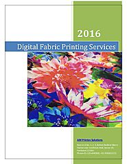 The insider guide to digial fabric printing