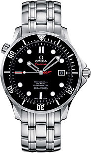 Replica Omega James Bond Watches - Replica Omega Seamaster 300M James Bond Quantom of Solace 212.30.41.20.01.001 AAA ...