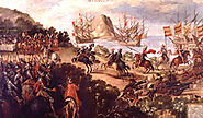 Conquest of Mexico Paintings