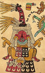 """Aztec Religion and Nature"" (Precolumbian!)"